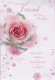 birthday friend card, Birthday card