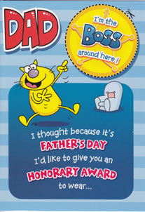 fathers day dad father card, Birthday card