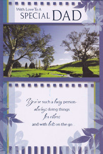 birthday dad father card, Birthday card
