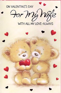 Wife Valentine Wife Cards1439