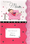 Mum Mother Birthday Cards1543