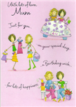 Mum Mother Birthday Cards1575