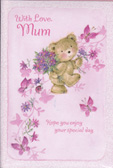 Mum Mother Birthday Cards1824