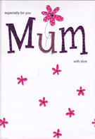 Mum Mother Birthday Cards1828
