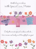 Mum Mother Birthday Cards1835