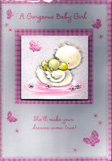birth of baby girl cards