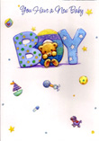 birth of baby boy cards