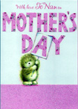 mothers day nan nannie cards